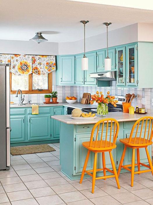 голубые кухни отзывы