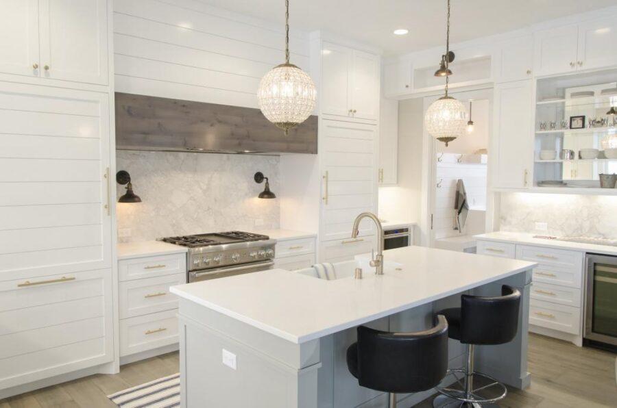 потолки на кухне в частном доме