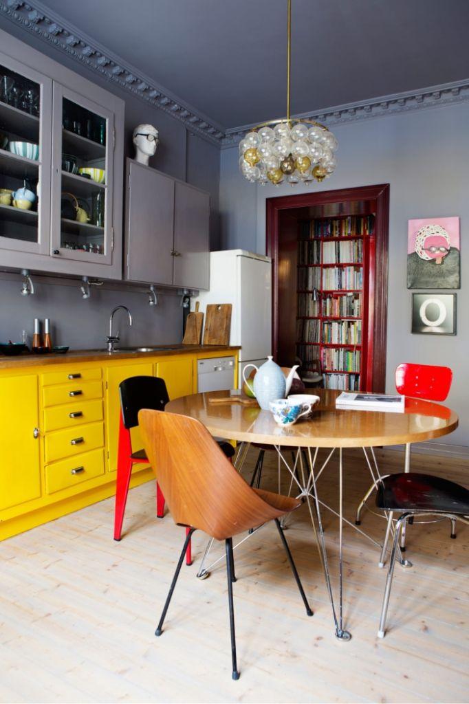 новые тенденции в дизайне интерьера кухни 2021