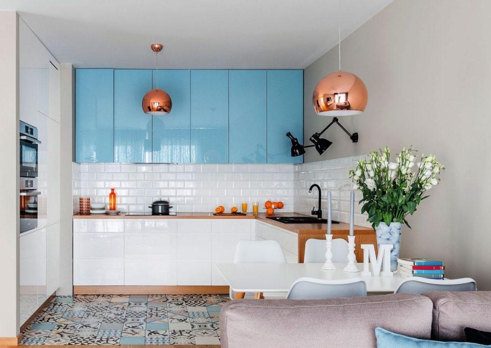 последние тренды в дизайне кухни 2020