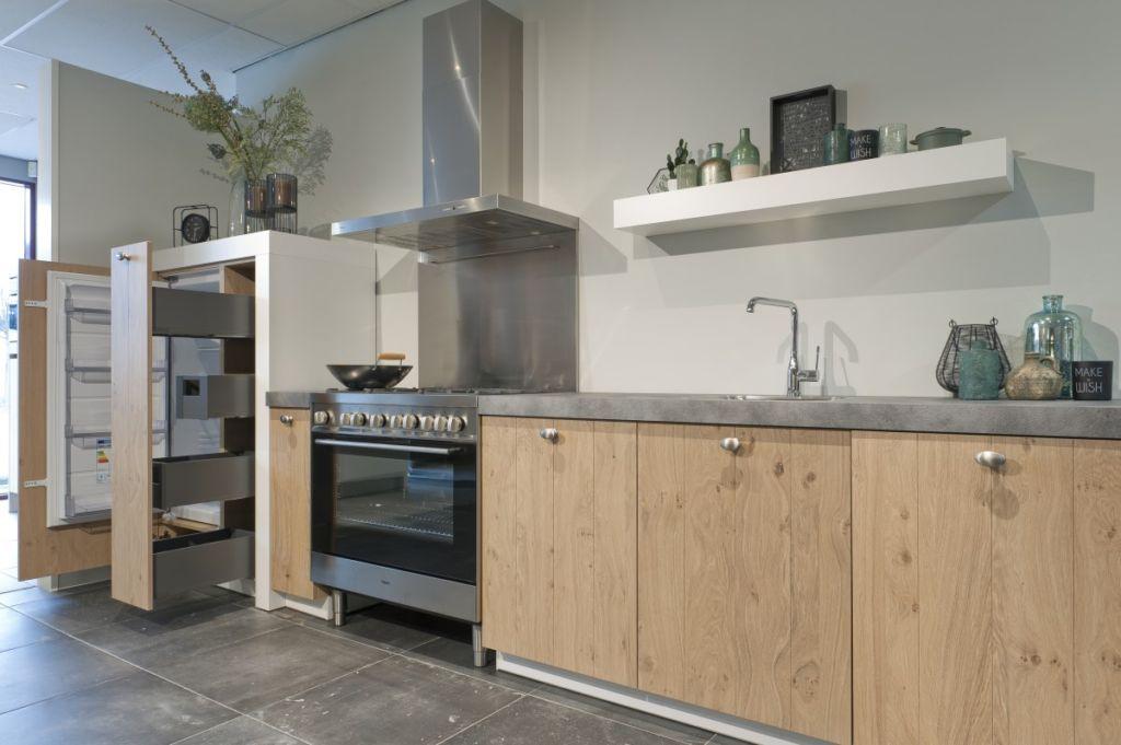 кухня дуб сонома фото