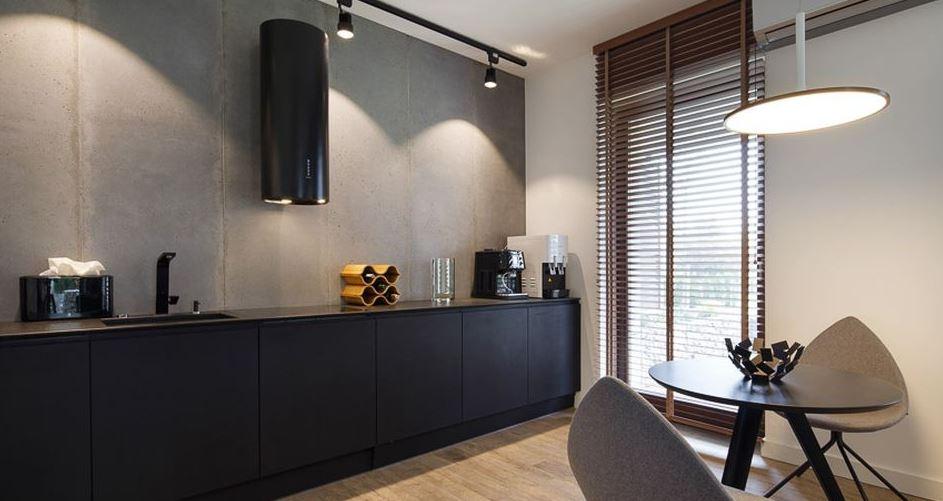 кухня цвет бетон