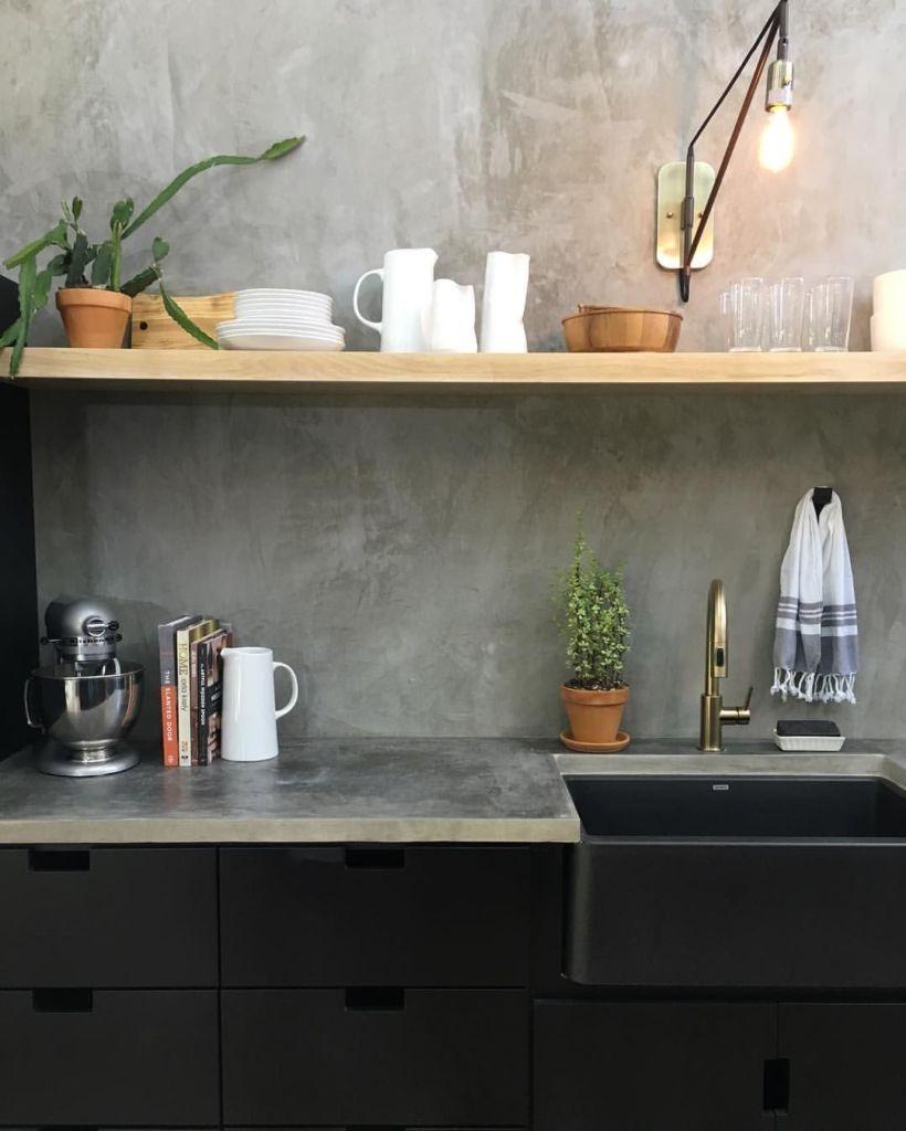 кухня под бетон
