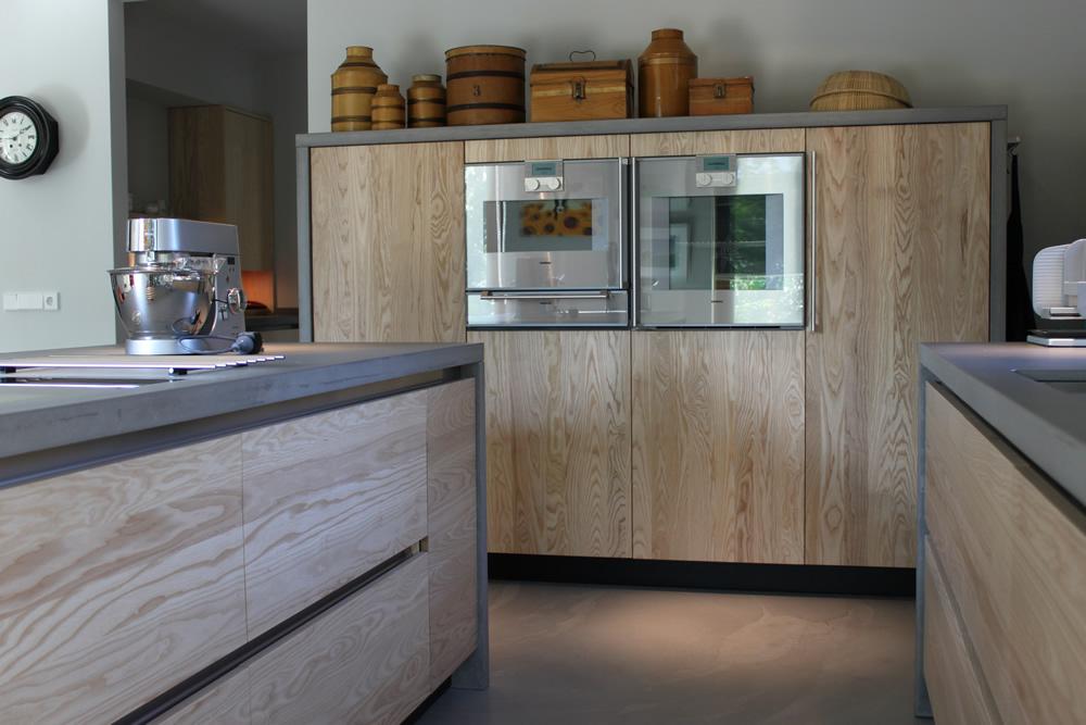 кухня дуб сонома в интерьере