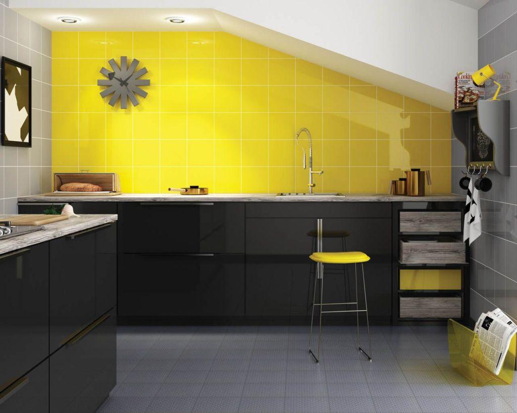 дизайн кухни обои квартира 2021