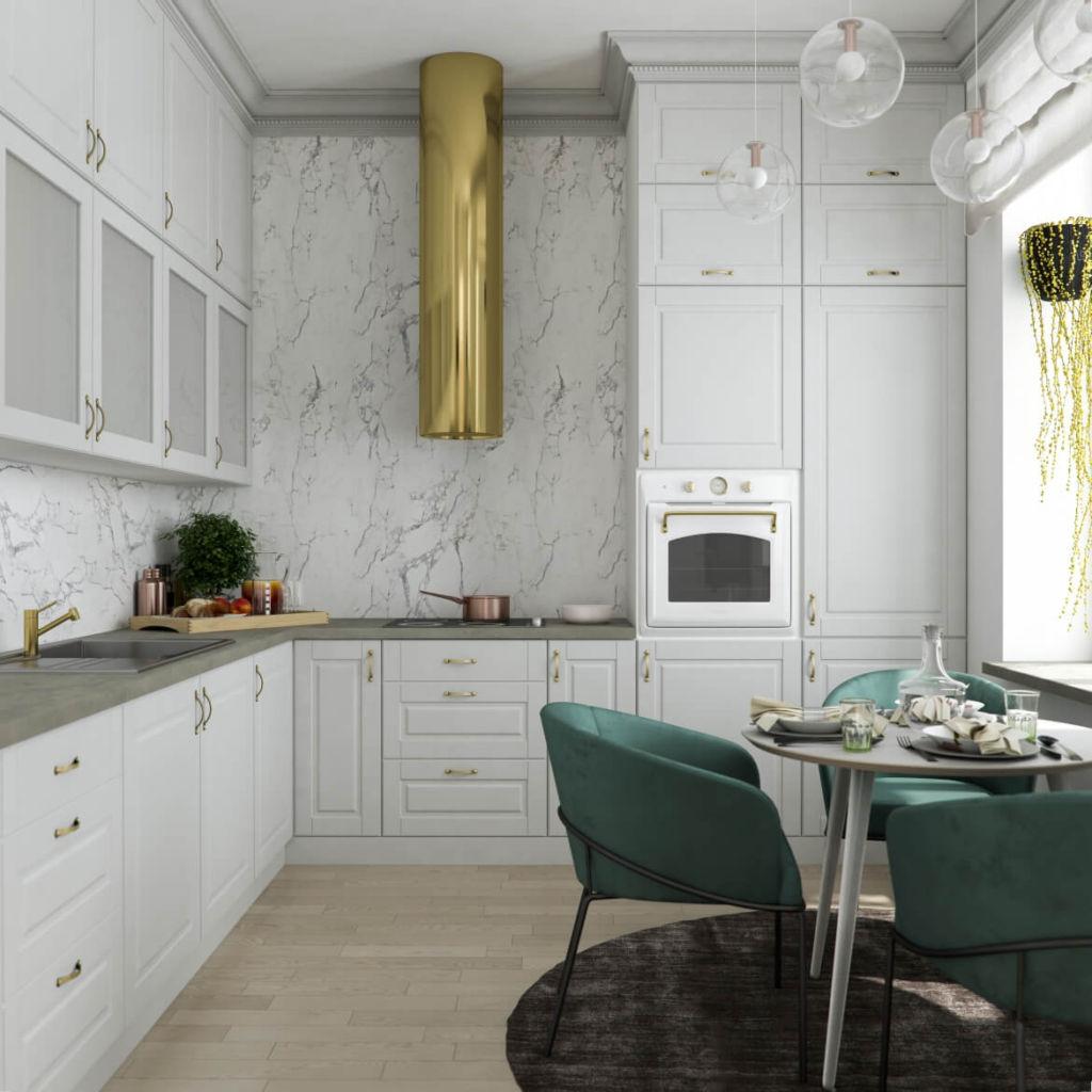 кухни 2020 новые тренды