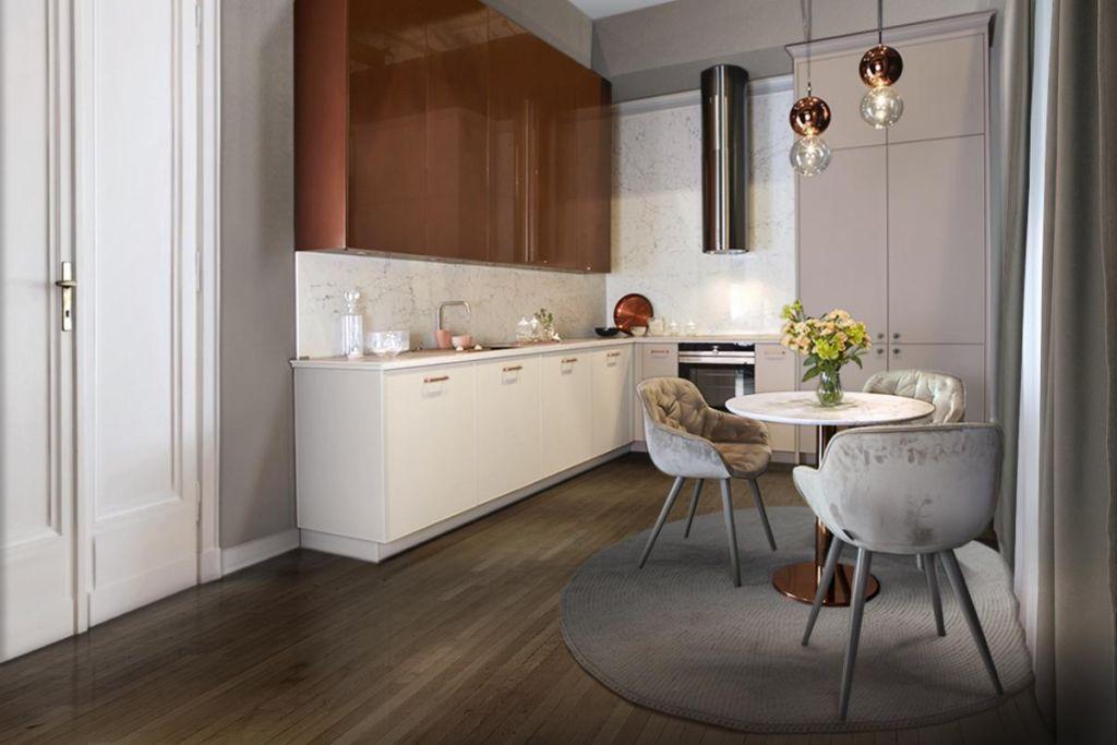 современные кухни дизайн 2021