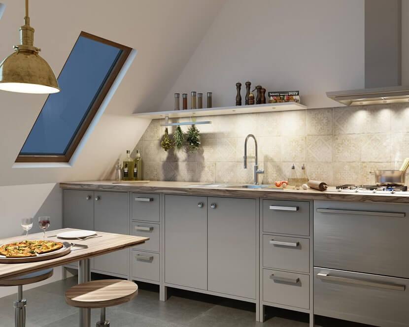 кафель на кухне в квартире