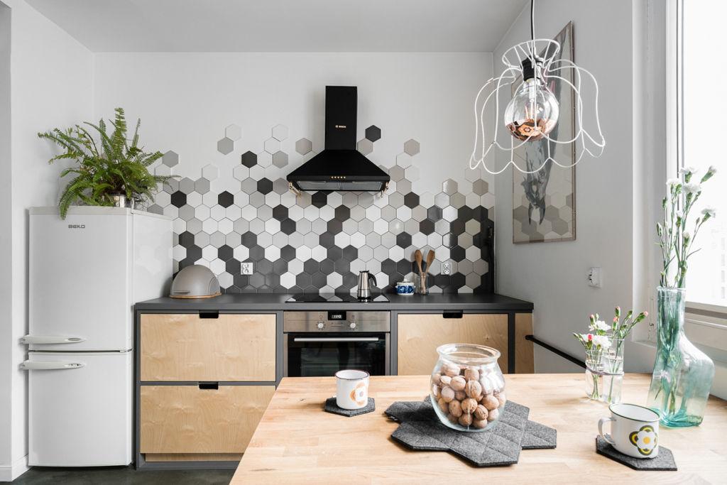 плитка под кухонный гарнитур