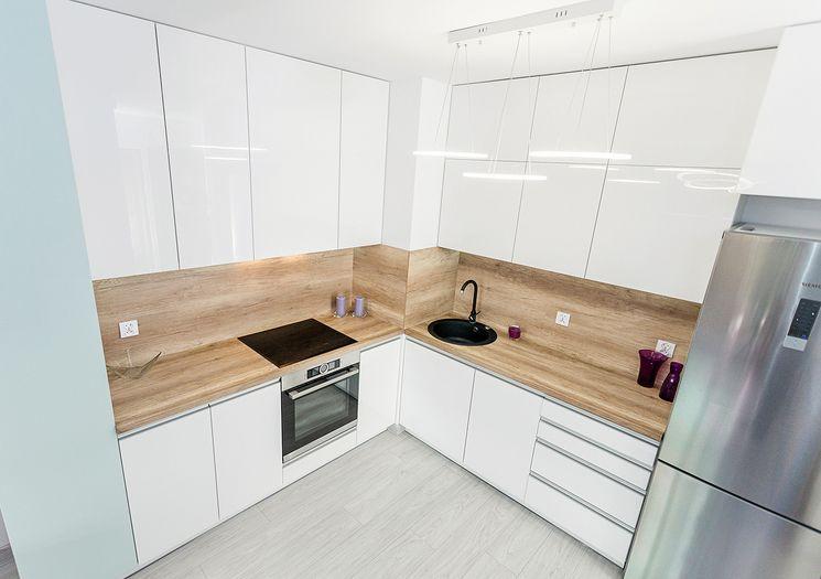 оформление кухни без окна