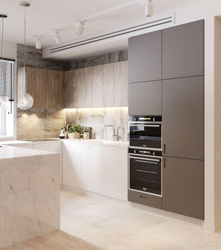 интерьер кухни 2021