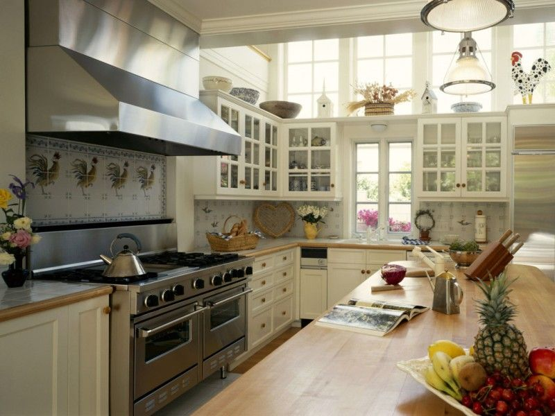кухня в стиле американская классика