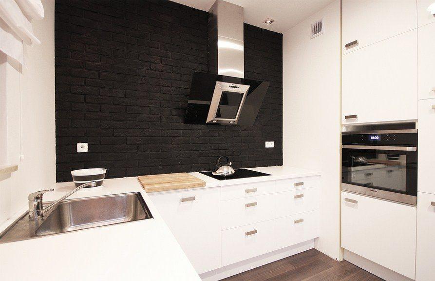 кухни под кирпич фото