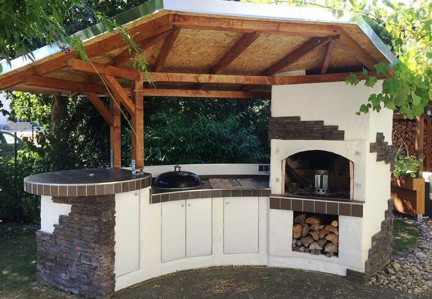 проект летней кухни
