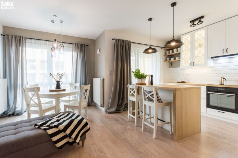 кухни +с островом +в современном стиле