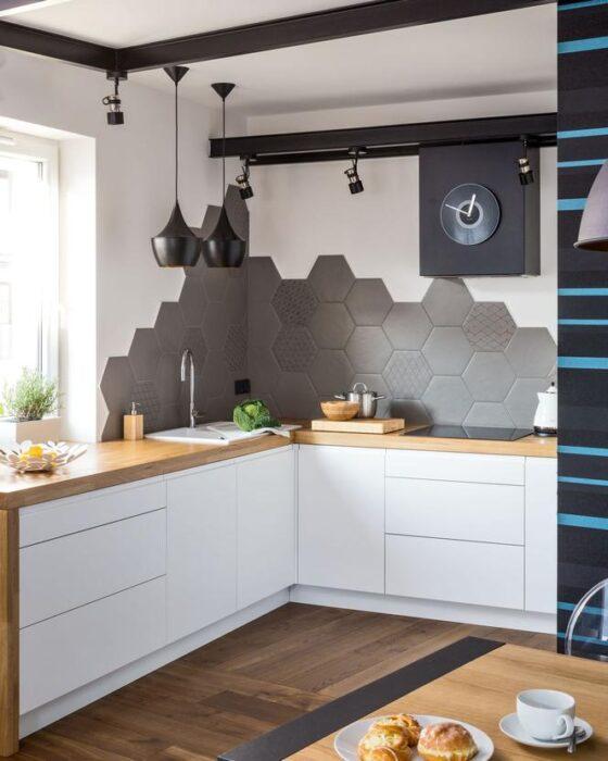 ремонт кухни стены пол потолок
