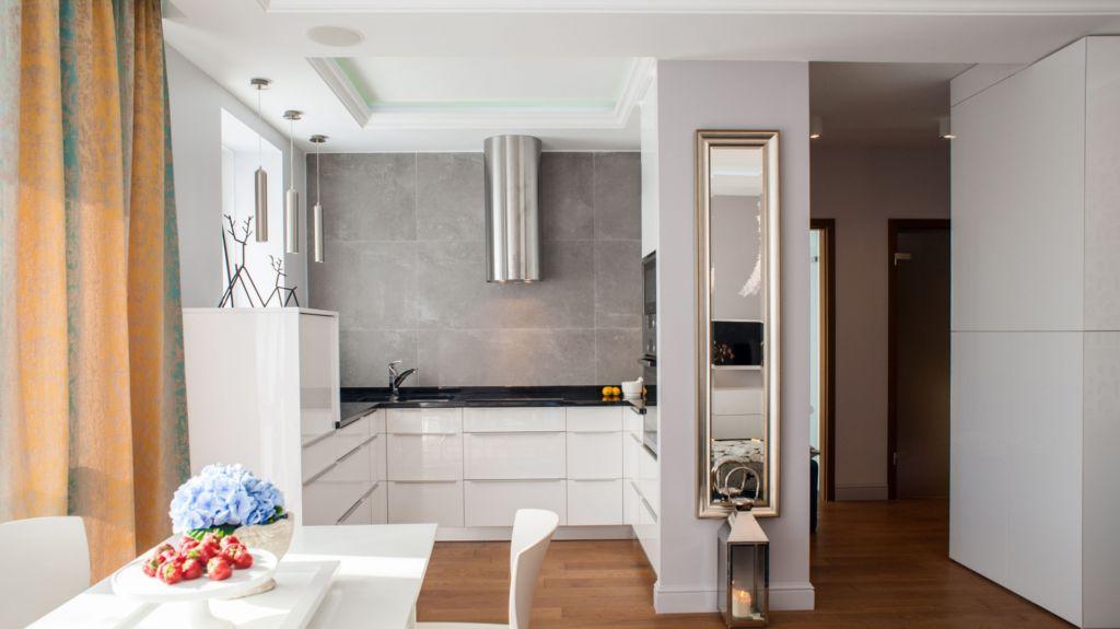 стены и пол кухни отделка