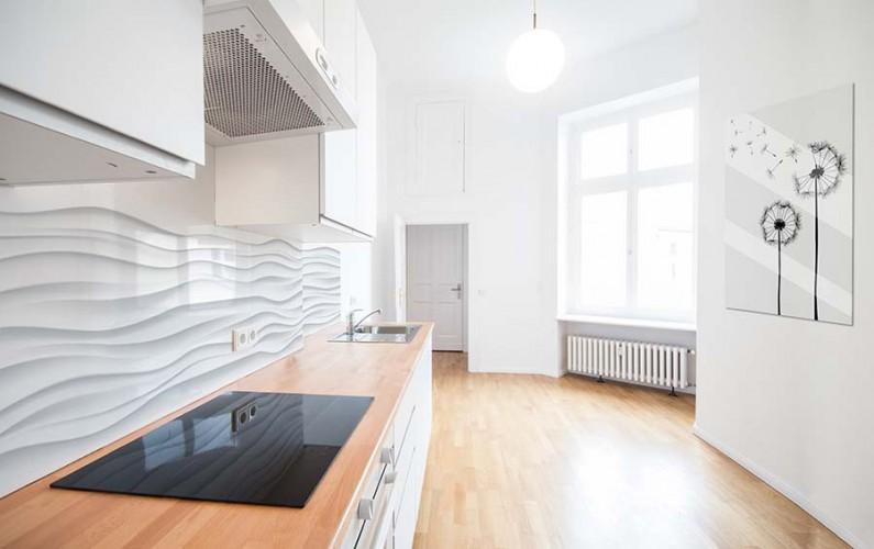 кухни в стиле минимализм в квартирах