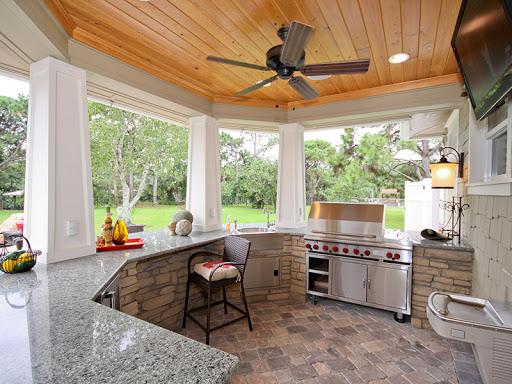 летняя кухня на участке