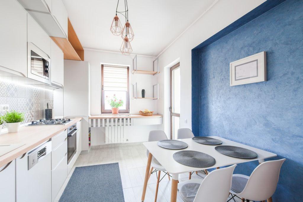 дизайн покраски кухни