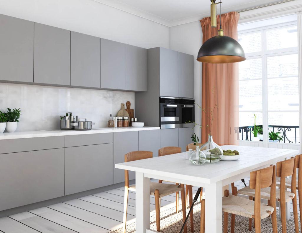 современный модный дизайн кухни