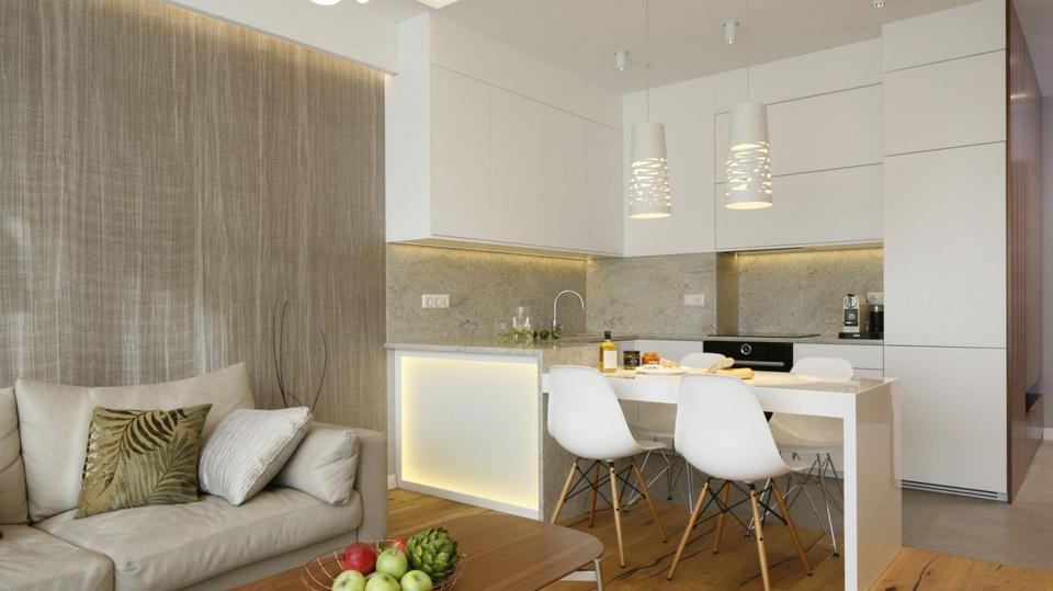 кухня модные цвета фото