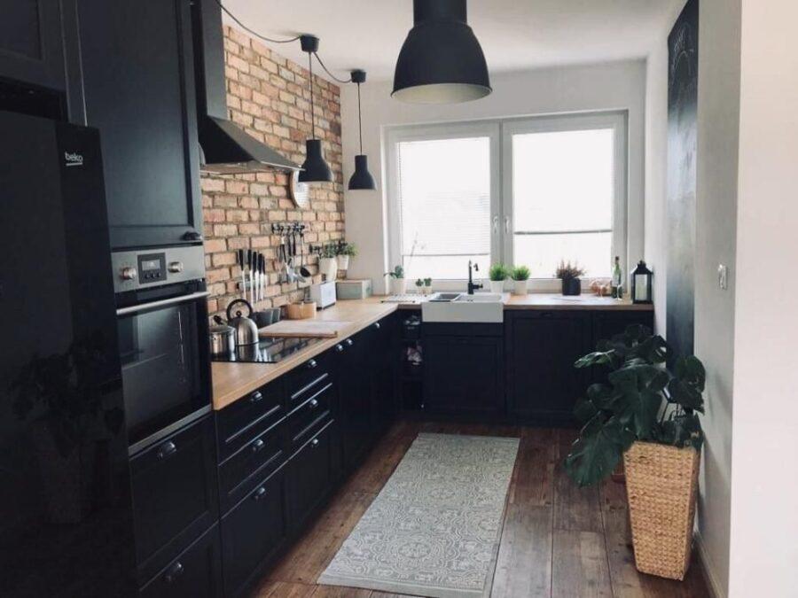 обустройство кухни в частном доме