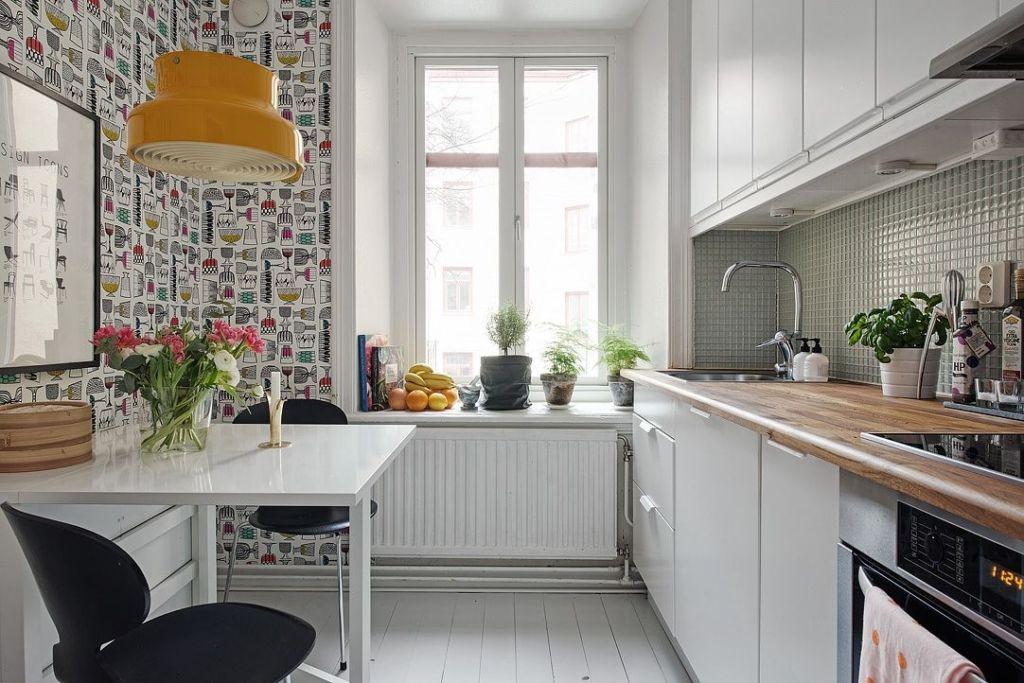 современные обои для кухни