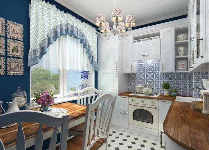 кухня прованс квартира