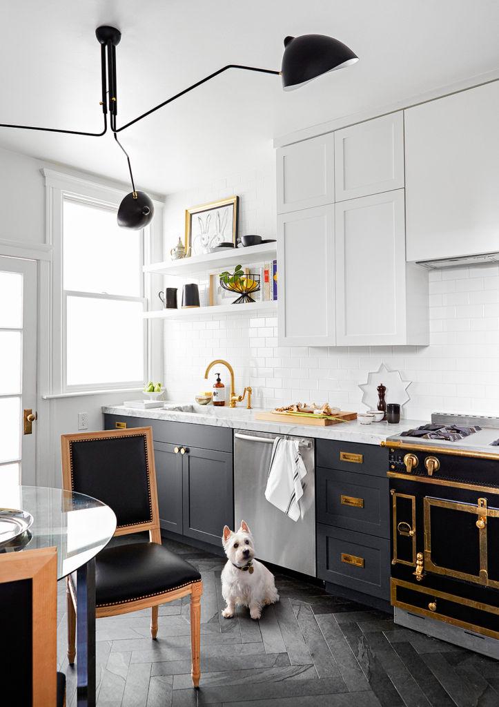 модная маленькая кухня