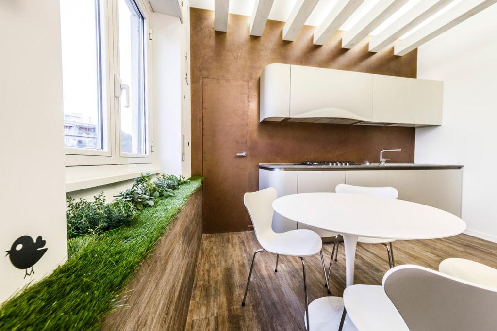 кухня в эко стиле фото интерьер