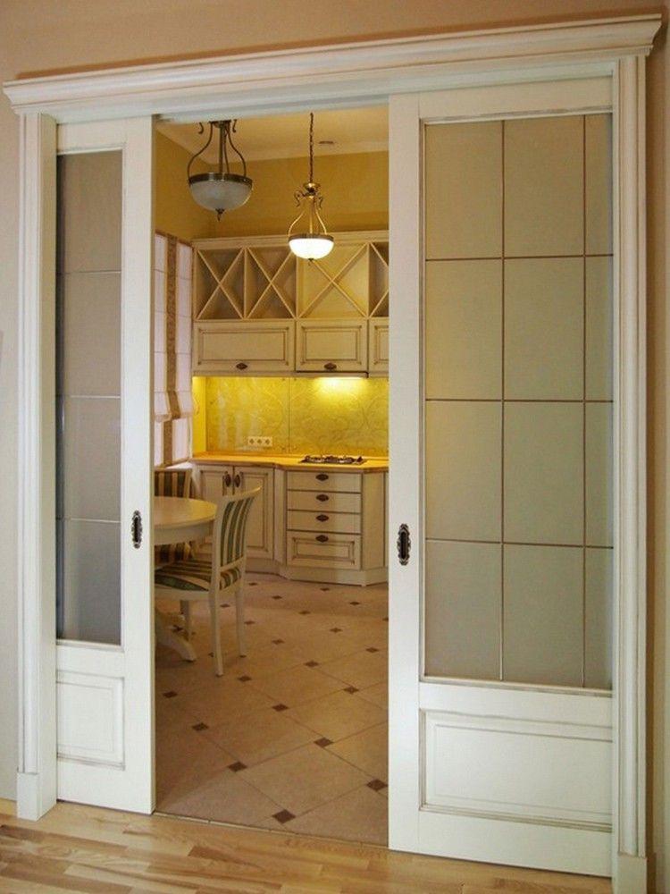 кухня закрытая дверями