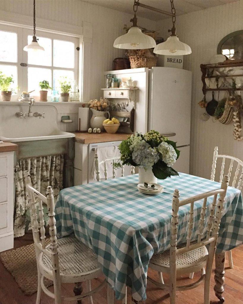 кухня шебби шик фото