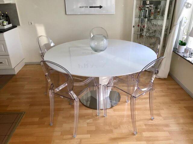 стул прозрачный фото