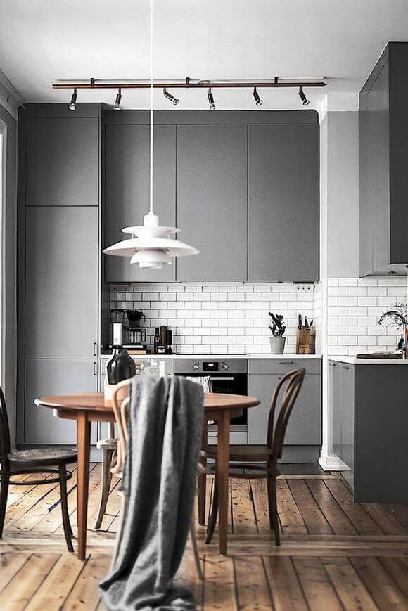 кухня под встроенную технику