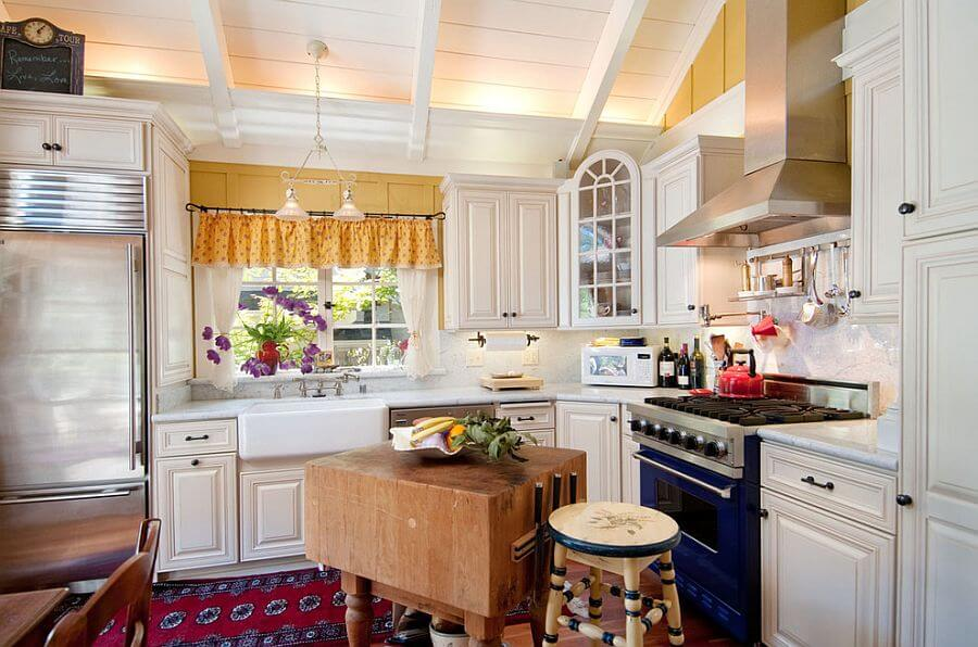 кухня шебби прованс