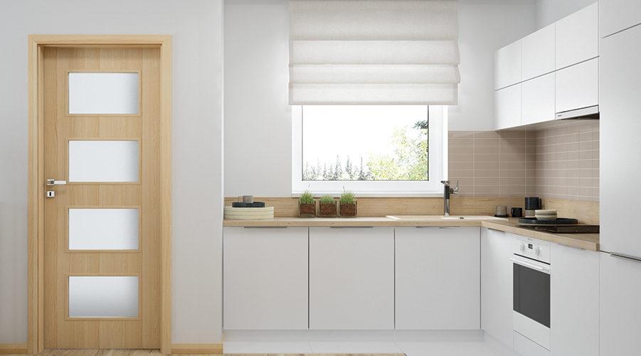 виды дверей на кухню