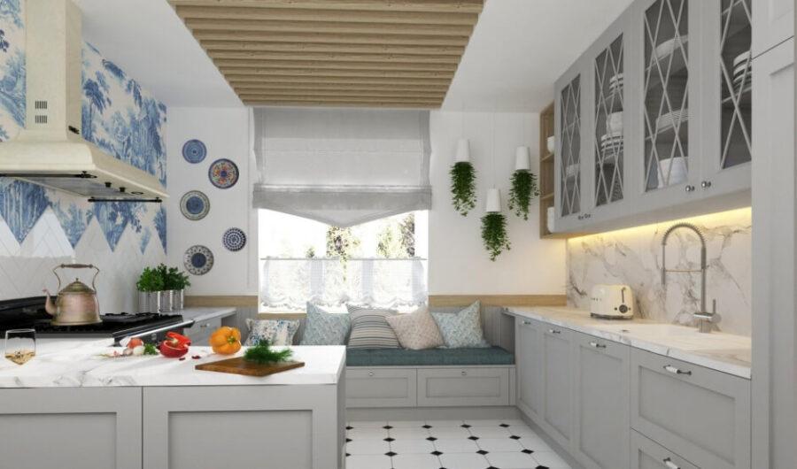 маленькие кухонные скамьи