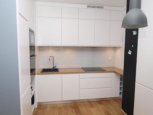 готовые встроенные кухни