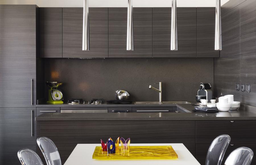 кухня сочетание коричневого