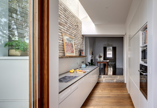 пол кухня коридор