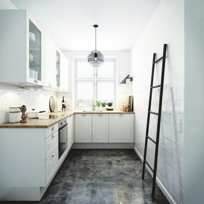 г образные кухни фото