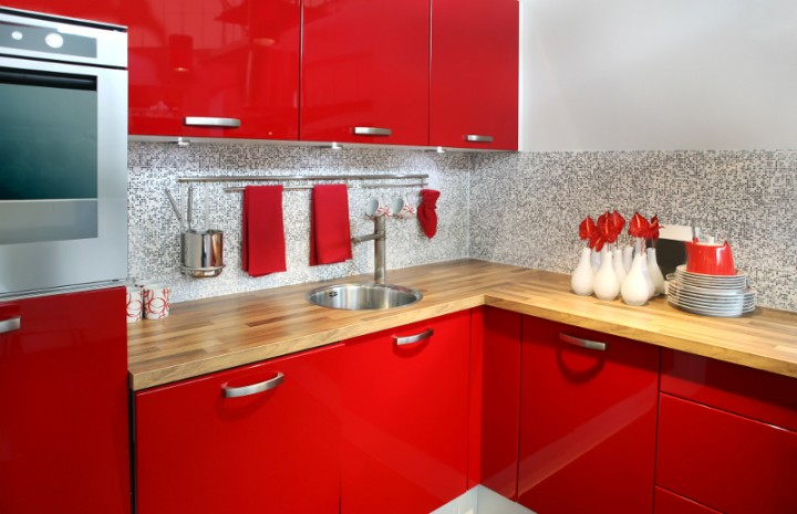 угловые кухни фото