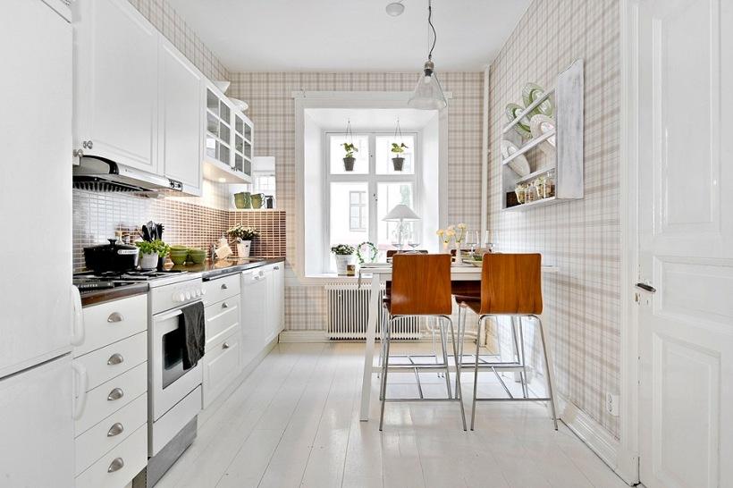 небольшой стол для маленькой кухни