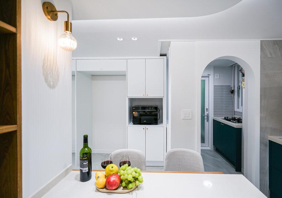 арки кухня коридор
