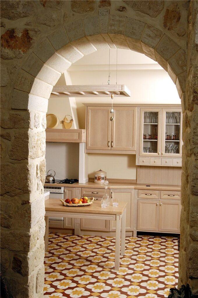 дверь арка на кухню
