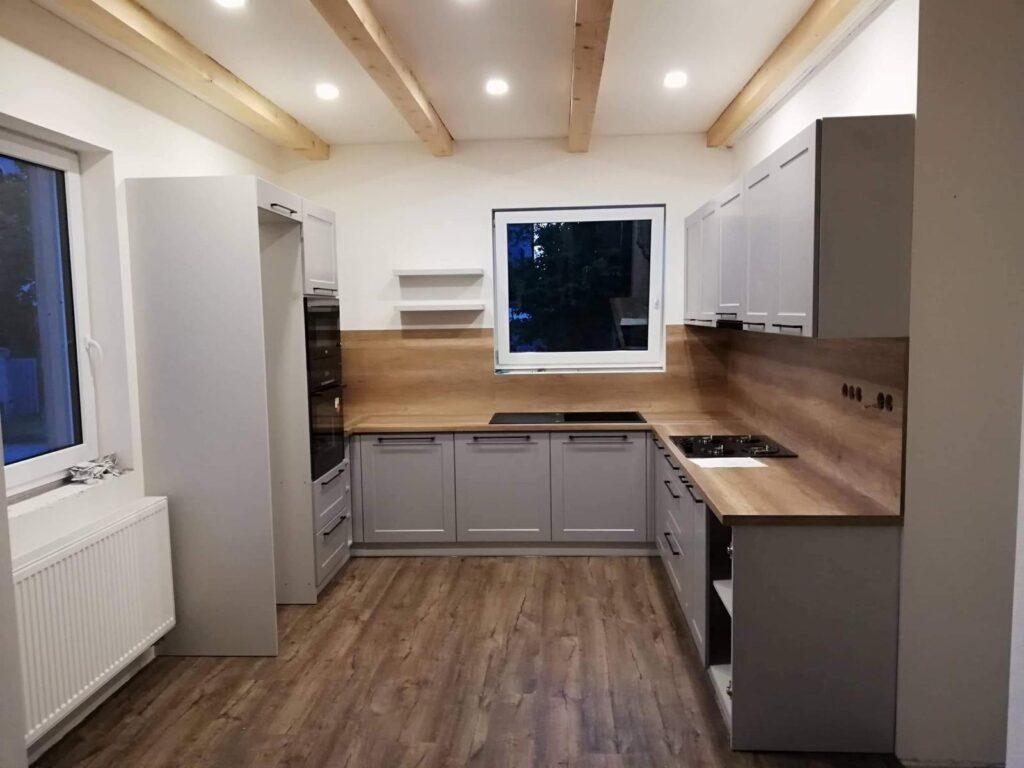 кухни в сером стиле современные