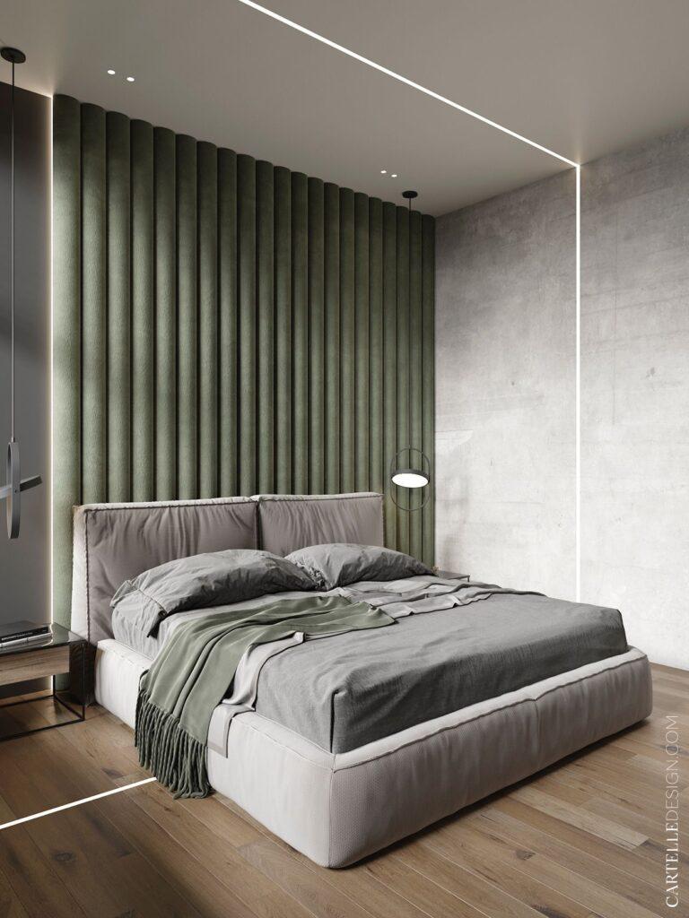 интерьер спальни тенденции