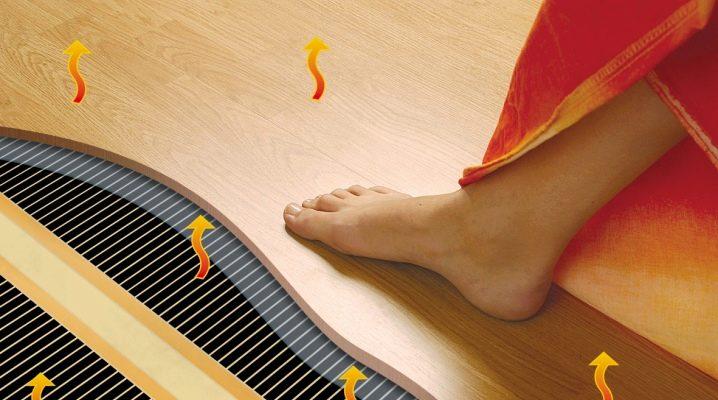 какой теплый пол под ламинат