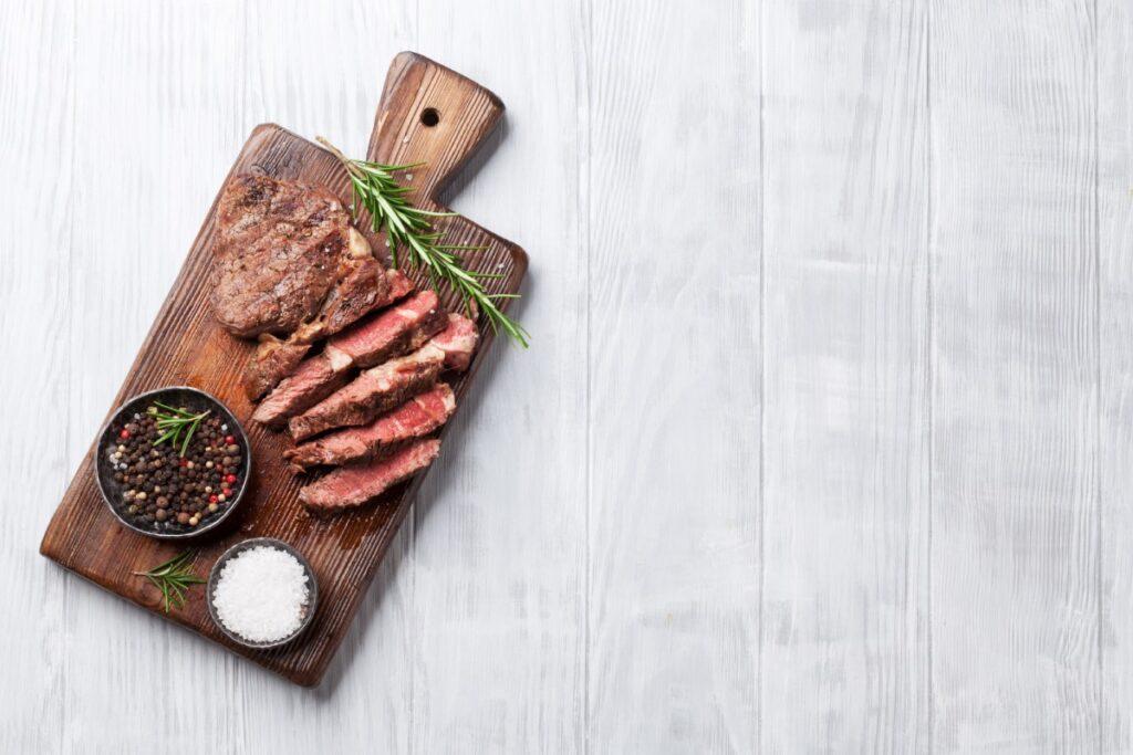 как жарить стейк из говядины